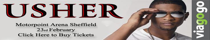 Usher at Motorpoint Arena Sheffield 23 Feb