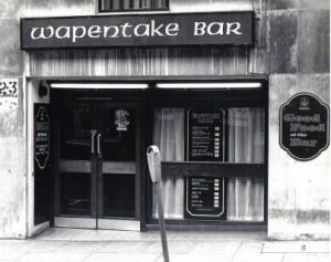 Wapentake Bar 1980s