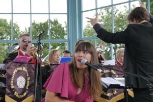 See Emily Play: Emily Ireland & the Stannington Brass Band (photo: Jamie Veitch)