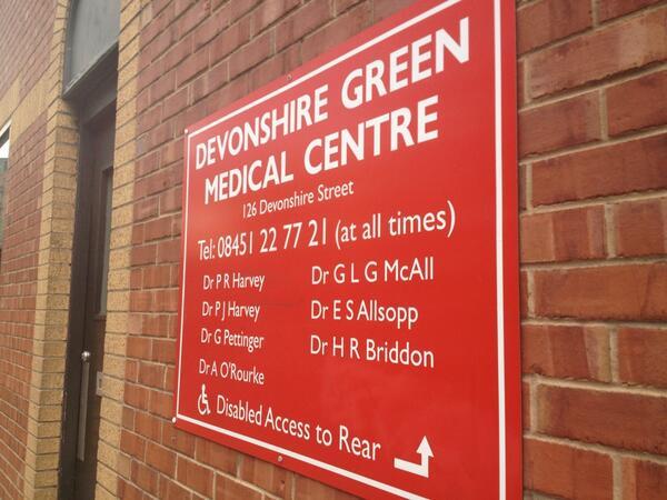Sheffield GP Surgery's threatened