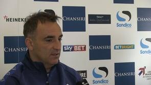 Carlos Carvalhal, Sheffield Wednesday Head Coach Pre Burnley