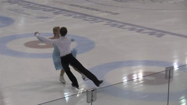 British Figure Skating Championships 2015 at Ice Sheffield