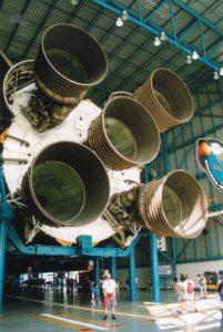 Graham and Saturn 5 Rocket
