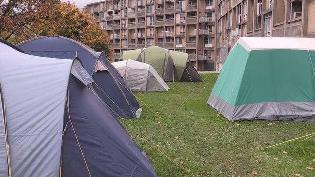 Sheffield homeless living in 'Tent City'