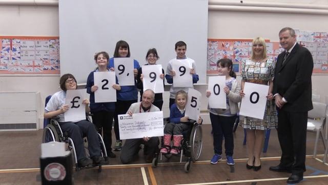 Marathon man raises £30k for Rotherham school