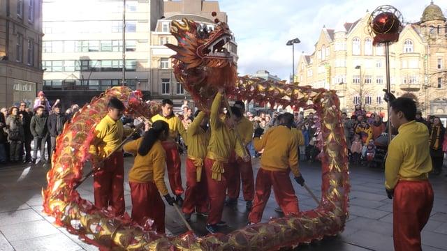 Sheffield celebrates the Chinese New Year