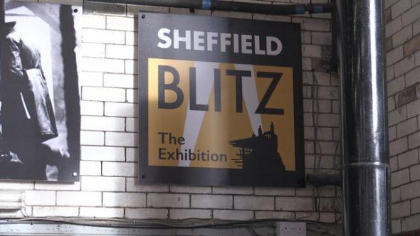 Sheffield Blitz exhibition opens