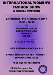 International Women's Fashion Show @ Broomhall Community Centre | England | United Kingdom