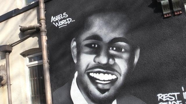 Mural tribute for shooting victim Aseel Al-Essaie