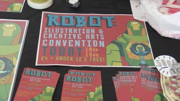 Millennium Gallery hosts Robot Con return