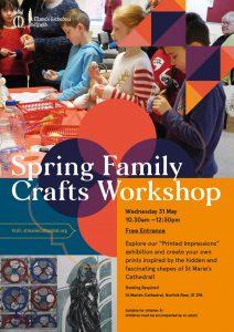 Spring Family Crafts Workshop @ St Marie's Catholic Cathedral | England | United Kingdom