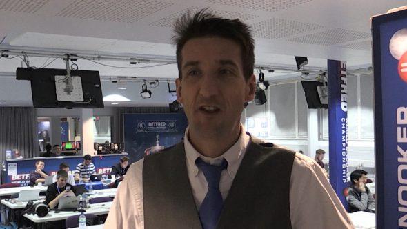 World championships MC shares snooker insights