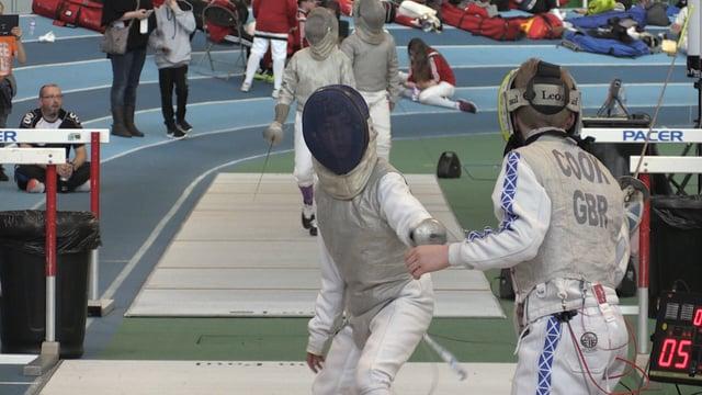 En garde! Fencing stars of the future