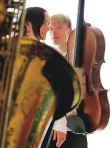 Emma and Daniel Reid, Sax and Violin, Folk and Baroque @ Shakespeare's Pub | England | United Kingdom