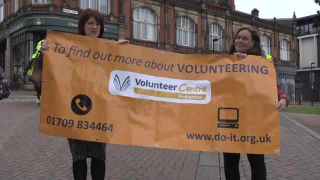 Volunteering celebrated in Rotherham Big Walk