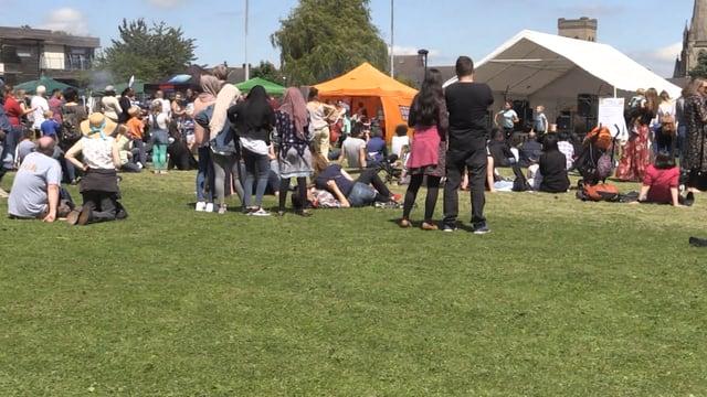 Hundreds enjoy the sun at Sharrow festival