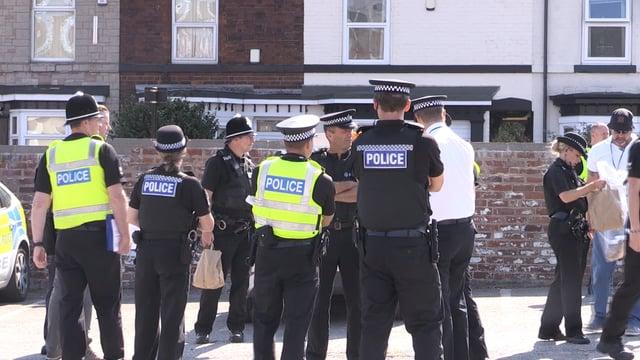 Thirteen arrested in police drugs swoop