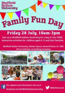 Family Fun Day @ Sheffield Hallam University | England | United Kingdom