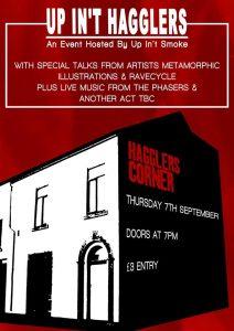 Up In't Hagglers - Arts and Music Showcase @ Hagglers Corner | England | United Kingdom