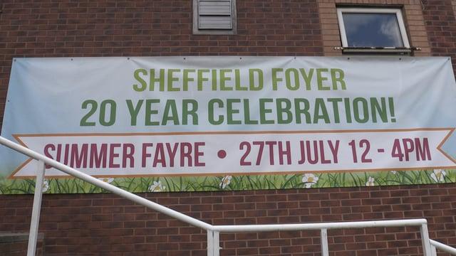Sheffield Foyer celebrates 20th anniversary