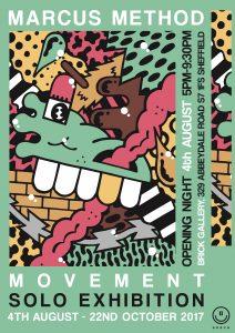 Marcus Method ' Movement ' @ B R II C K / The Brick Gallery   England   United Kingdom