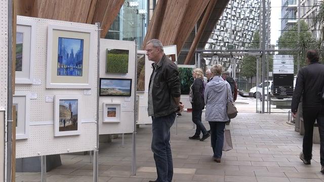 Heeley artists' work on display at Winter Gardens