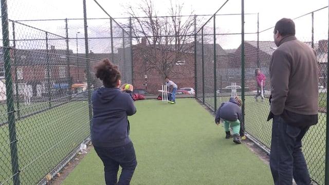 New innings for community cricket nets