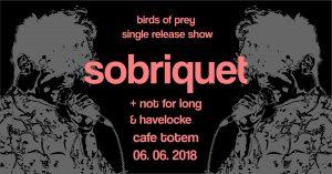 Sobriquet @ Cafe Totem | England | United Kingdom