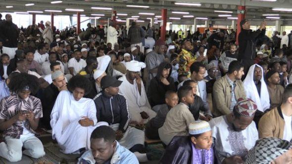 Sheffield Muslims celebrate Eid