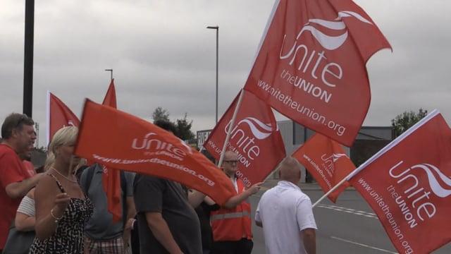 Supertram staff in 24 hour strike