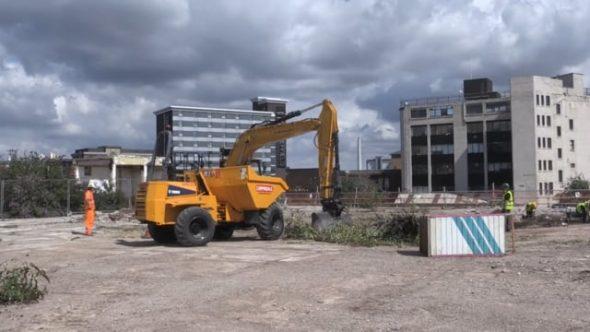 Castlegate excavation begins