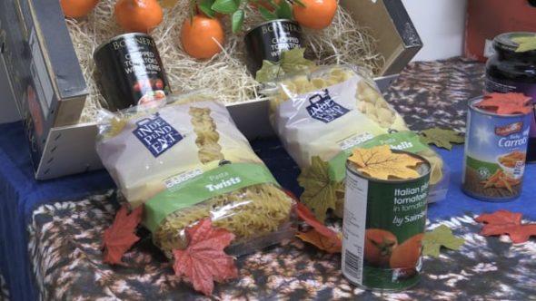 Moor Market harvest celebration supports local food banks