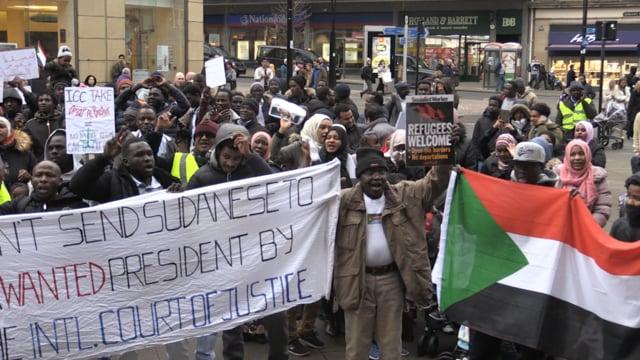 Sudanese community pledge support for civilian rule