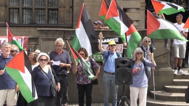 Palestine campaigners mark Nakba exodus