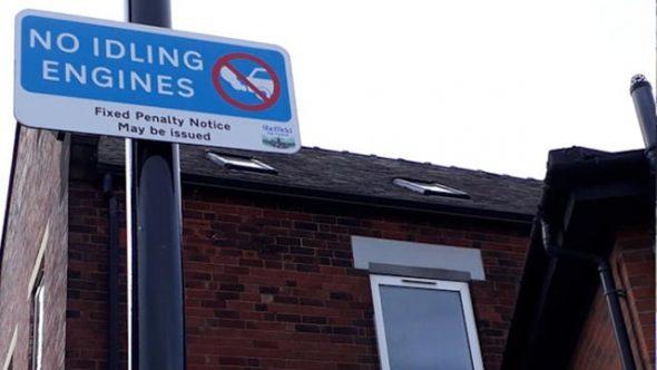 Expansion plan for Sheffield anti-idling zone scheme