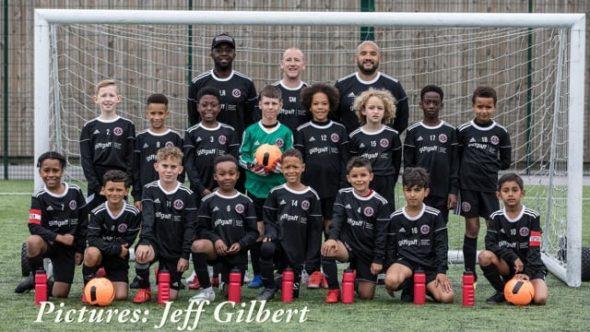 Junior football club launches new kit