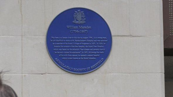 Watson's Walk plaque honours pioneering surgeon