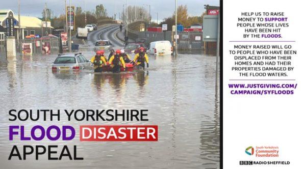 South Yorkshire flood appeal sets £250k target