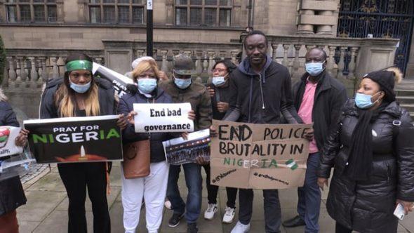 Sheffield protesters condemn police killings in Nigeria